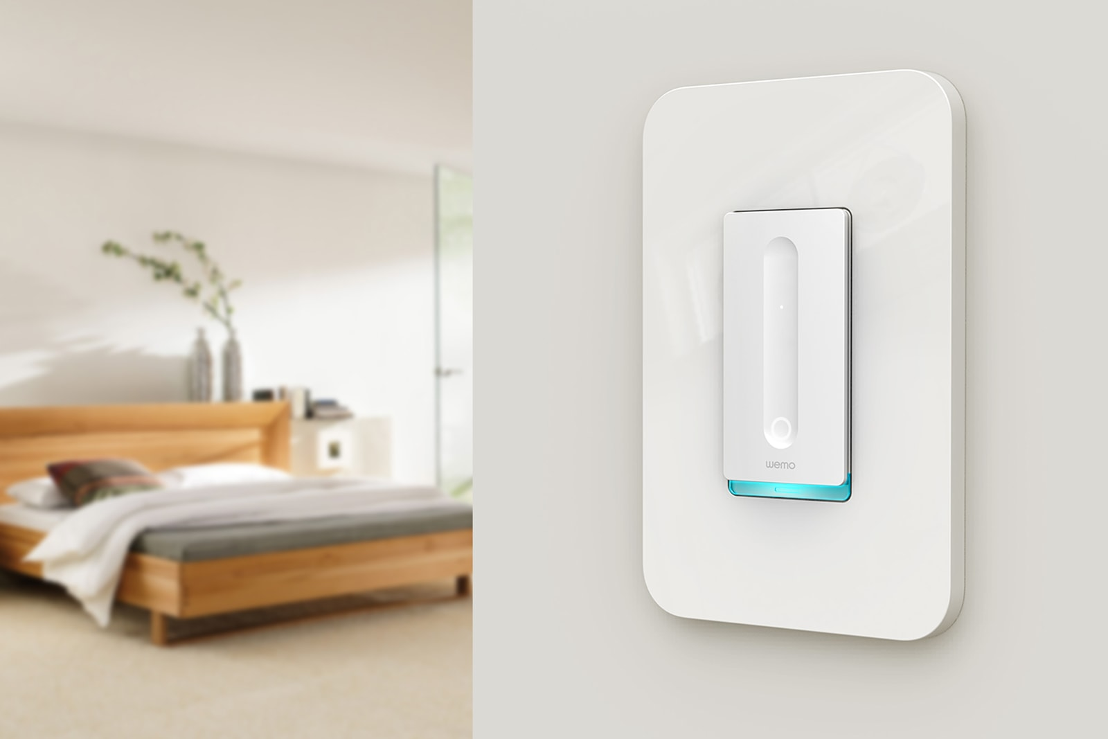 WeMo's smart home upgrades include a dimmer switch