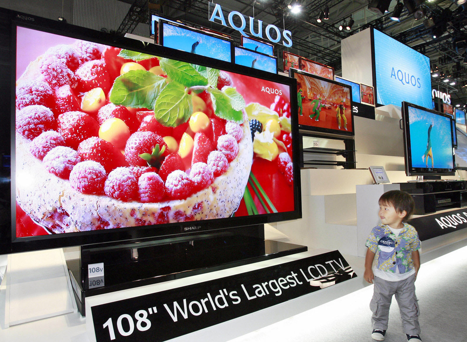 Sharp will reportedly start building OLED TV panels next year
