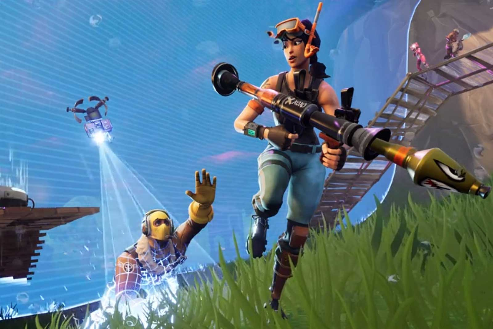 Fortnite' for Switch thankfully includes native voice chat