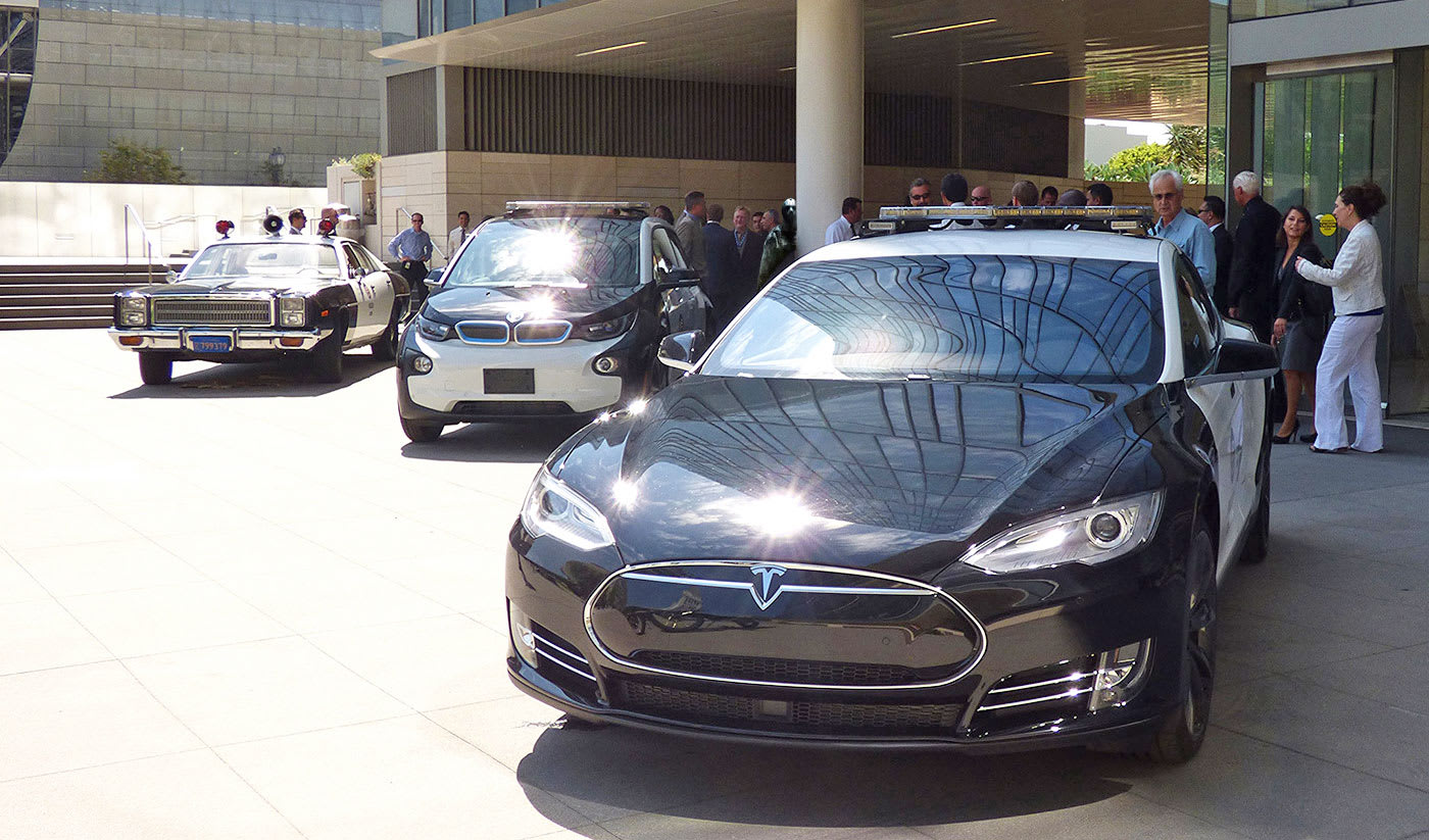LA cops aren't ready to switch to Teslas