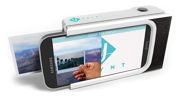 check out f0005 94e2f A Polaroid-style phone case can print selfies in under a minute