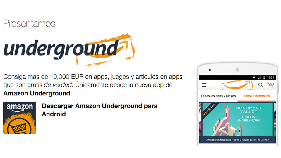 Amazon Underground Ya En Espana Mas De 1 000 Apps Y Juegos Gratis