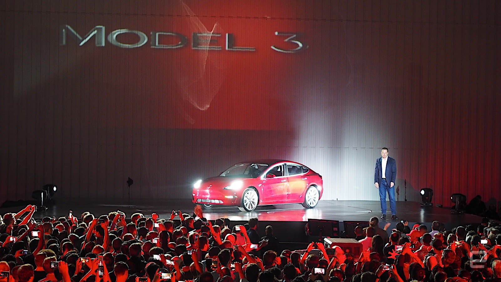 Tesla just delivered the first round of Model 3s
