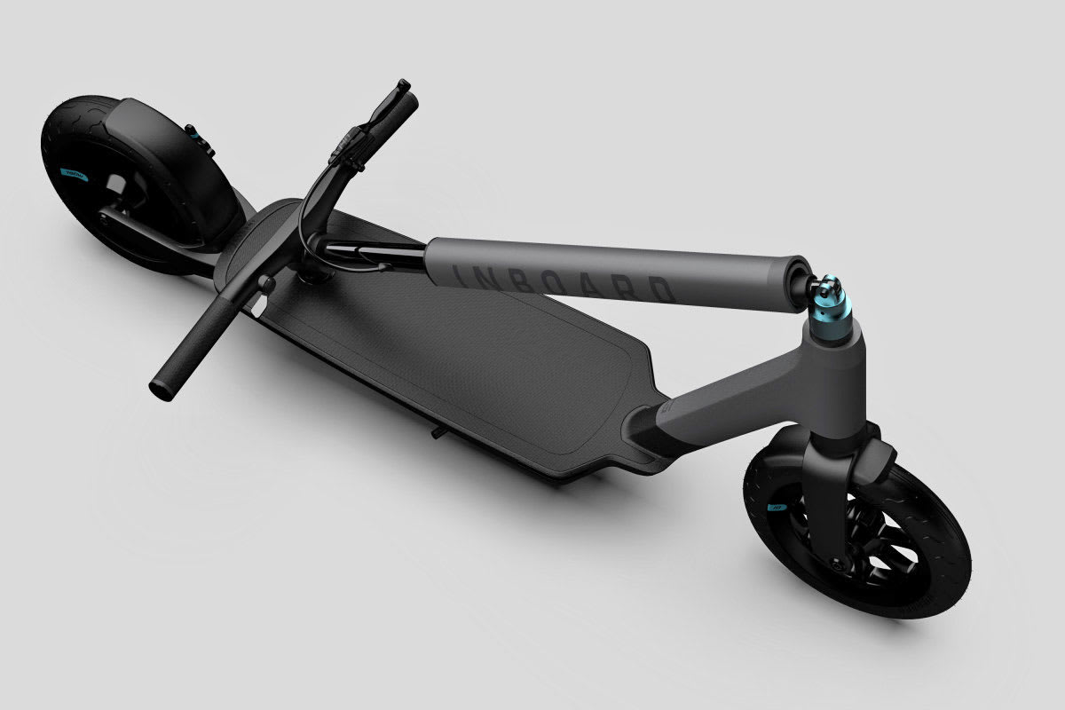 Inboard Shark Tank >> Inboard S New E Scooter Packs Swappable Batteries Engadget