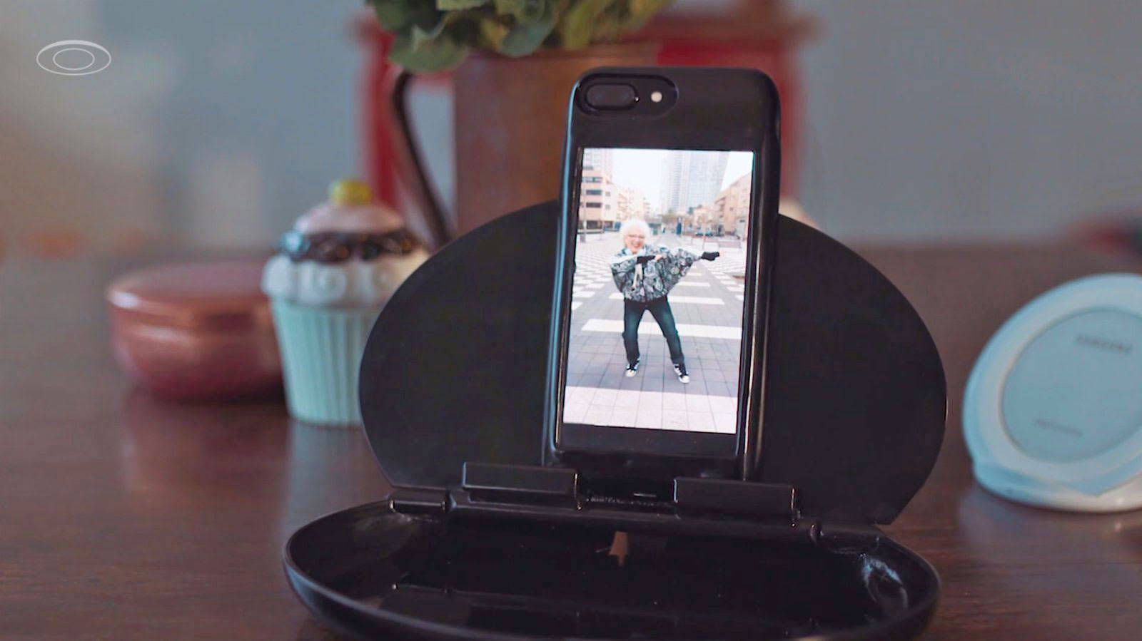 This iPhone case is basically an Android phone