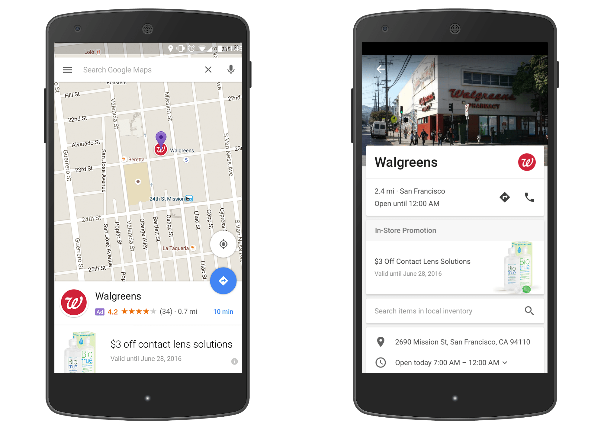 New Google Maps ads will drop nded pins on your search ... on