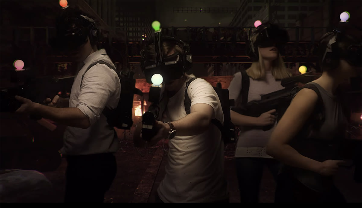 Immersive Virtual Reality gaming center opens in Australia