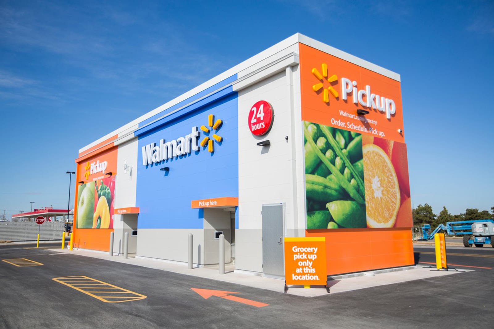 Walmart takes on Amazon s grocery pickups with automated kiosks 2096a9cc5
