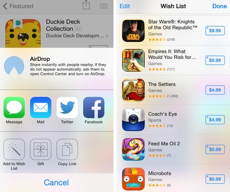 iPhone 101: How to use the Wish List in the iOS App Store