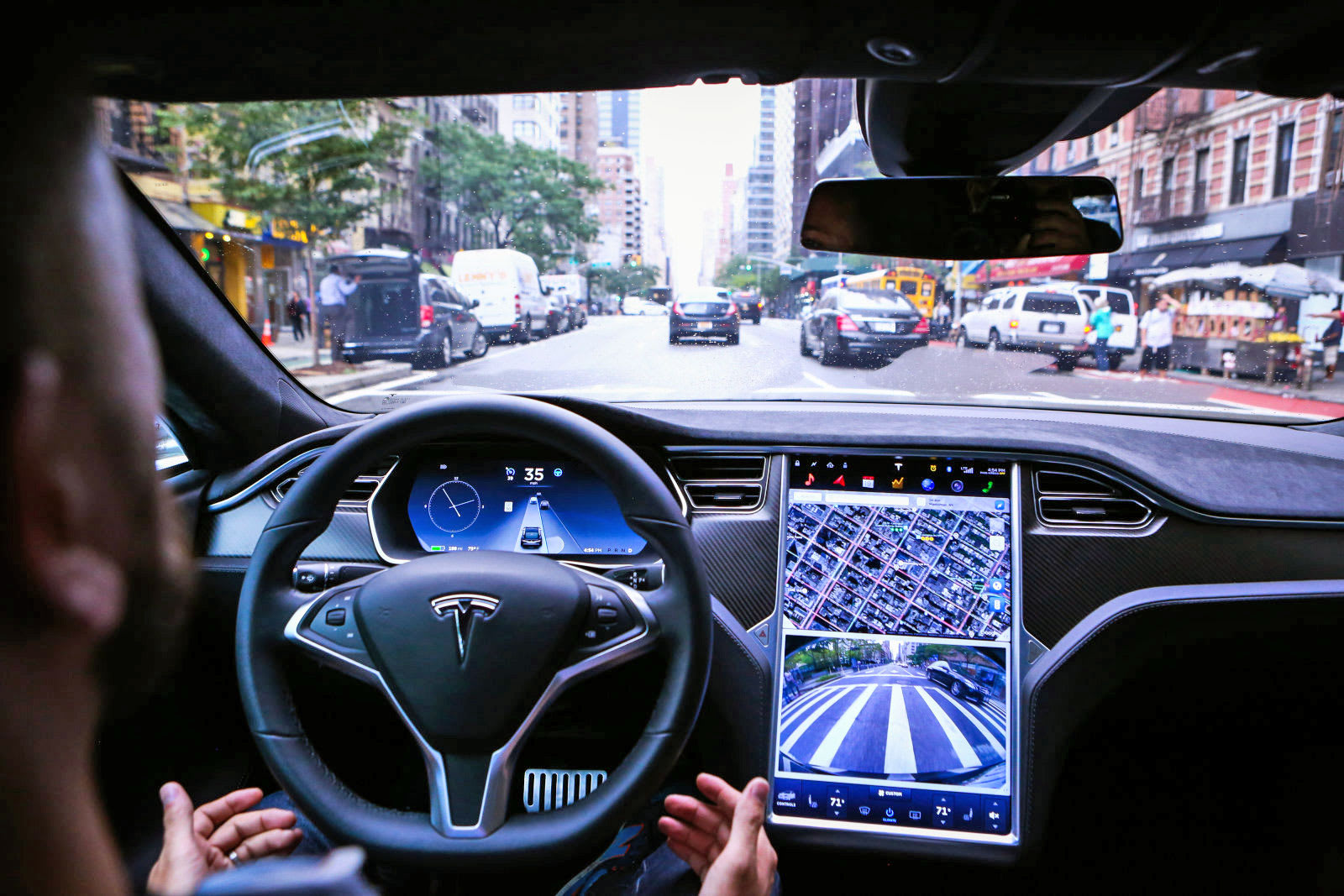 Tesla makes Autopilot 'smooth as silk' for current models