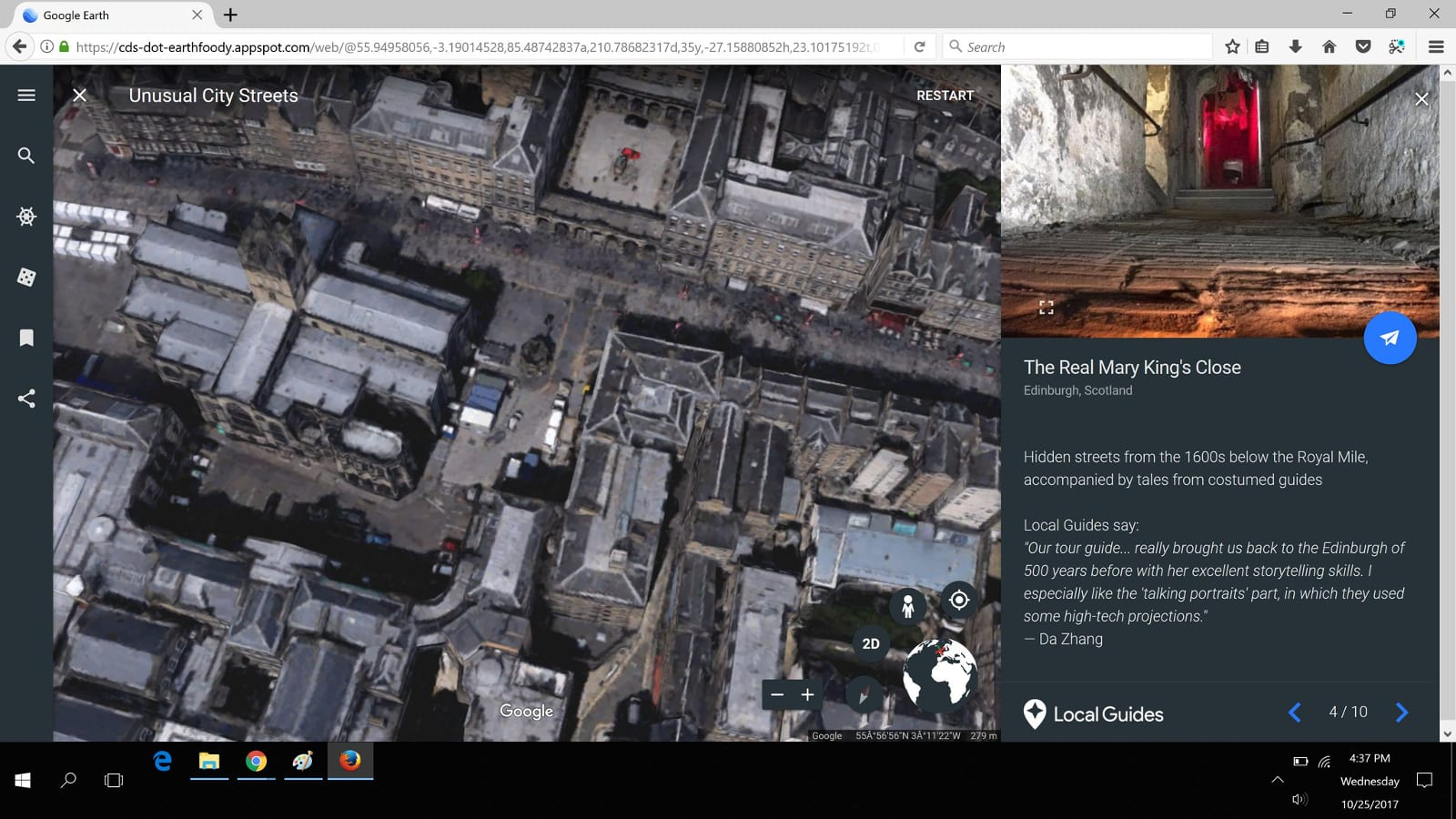 Google Earth is almost ready to work on Firefox