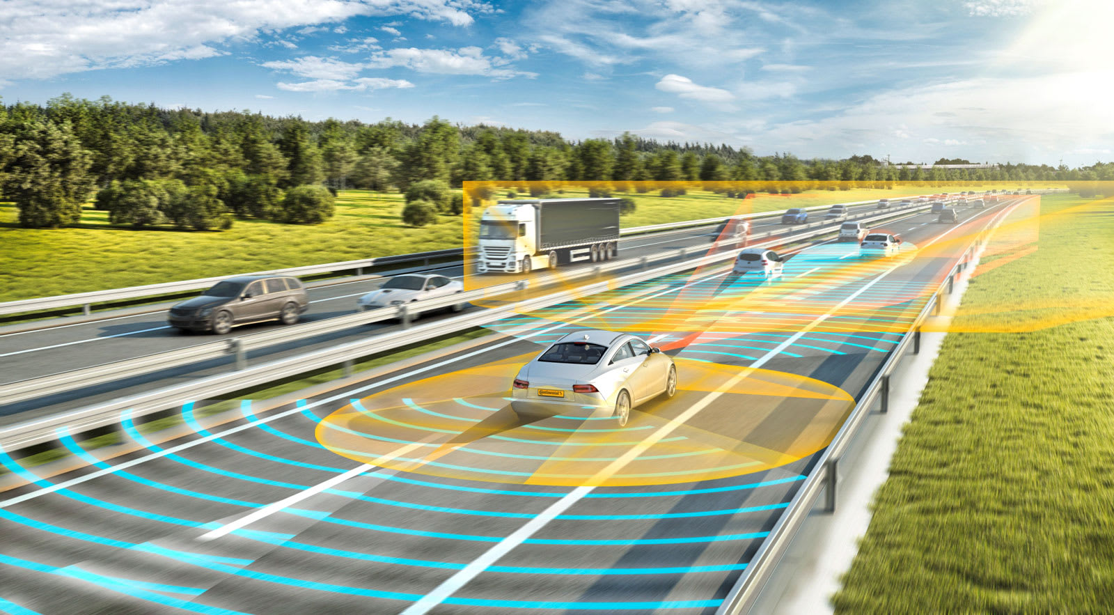 Self Driving Car Demo Is The First To Cross The Us Canada Border
