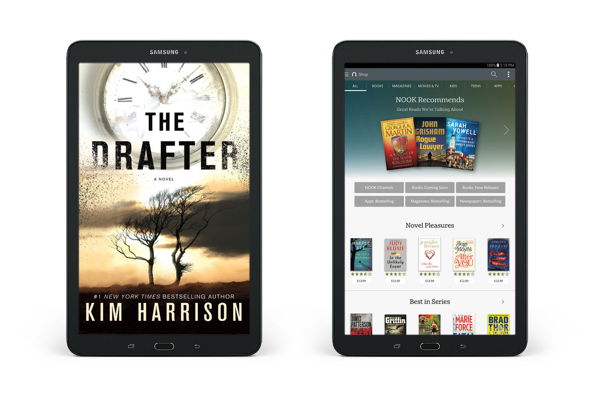 Barnes and Noble's Galaxy Tab E Nook is yet another tablet