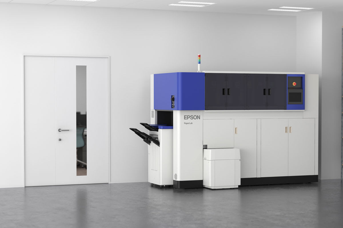 Epson wants to put a paper recycling machine in your office