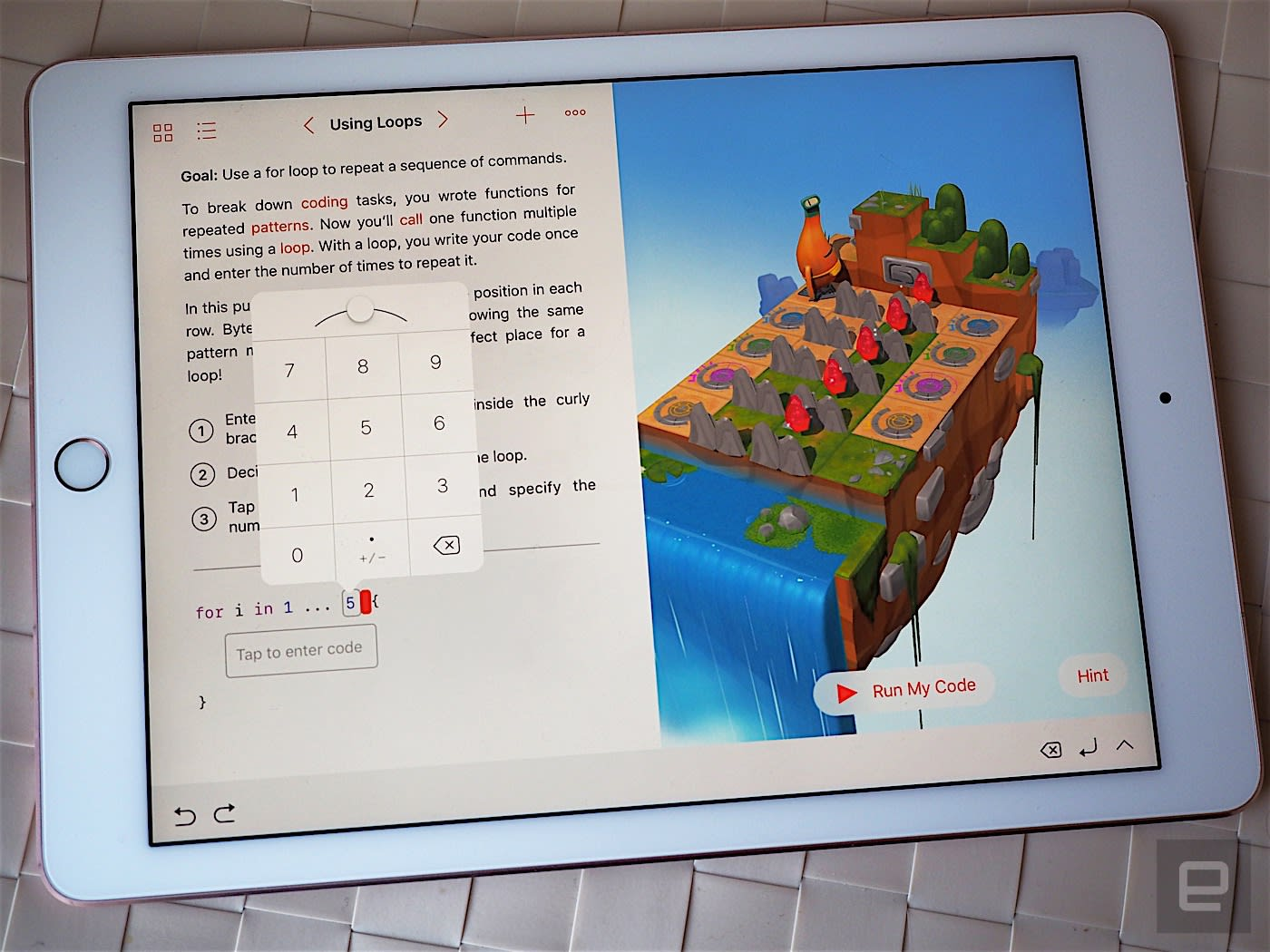 Apple's kid-friendly iPad coding app arrives tomorrow