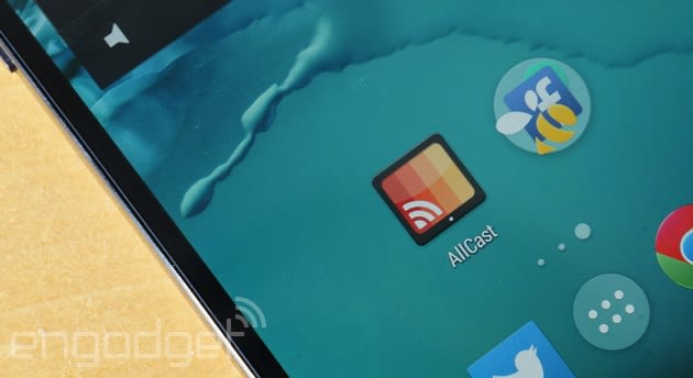 AllCast will let you mirror any Android phone's screen on