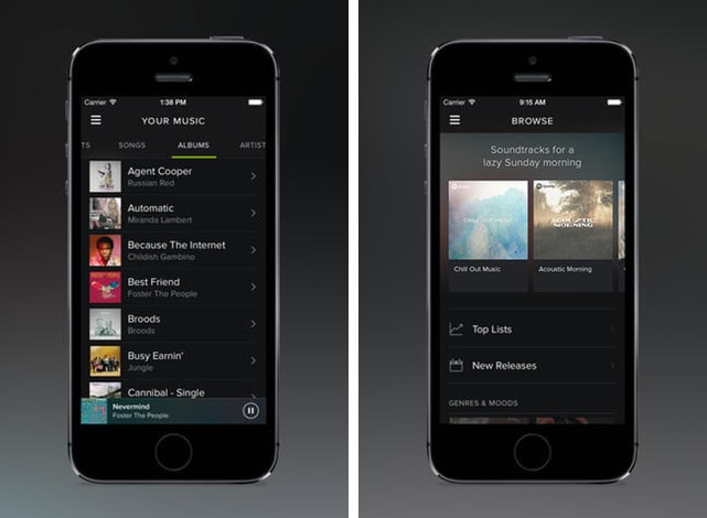 Spotify update adds equalizer, refreshed Artist page and more