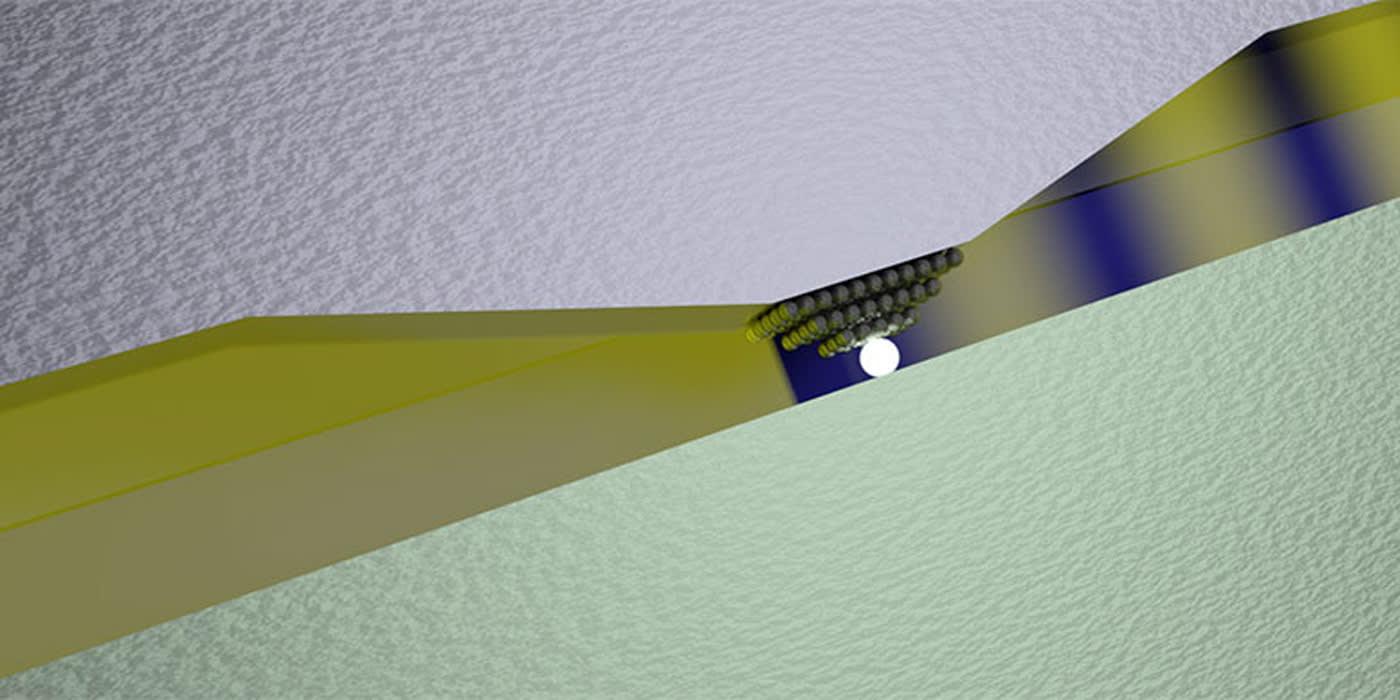 Smallest-ever optical switch revolves around one atom