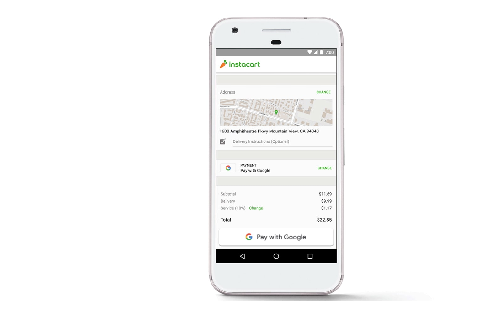 Pay With Google' makes shopping on Android less of a hassle