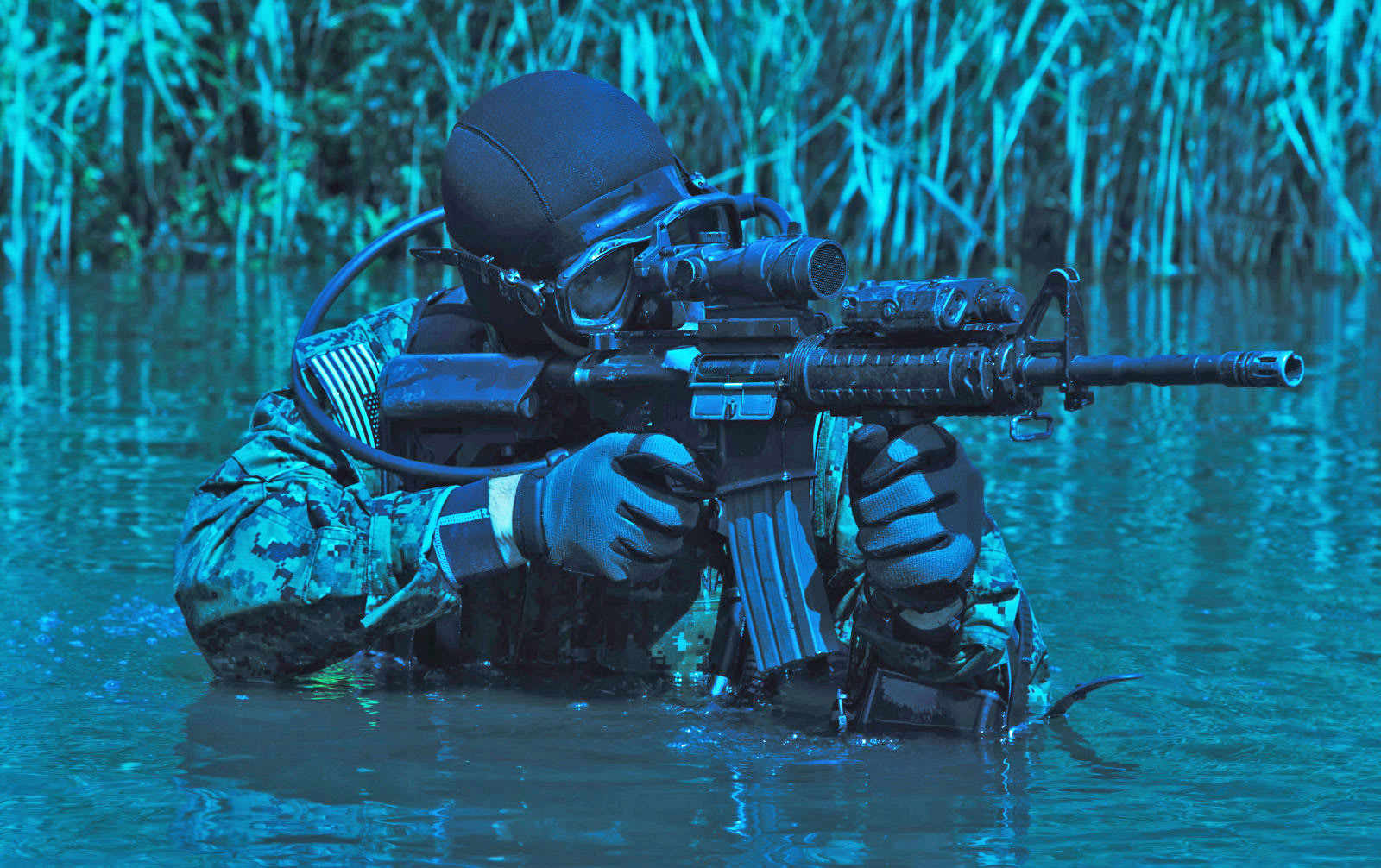 Brain zapping helps US Navy SEALs learn faster