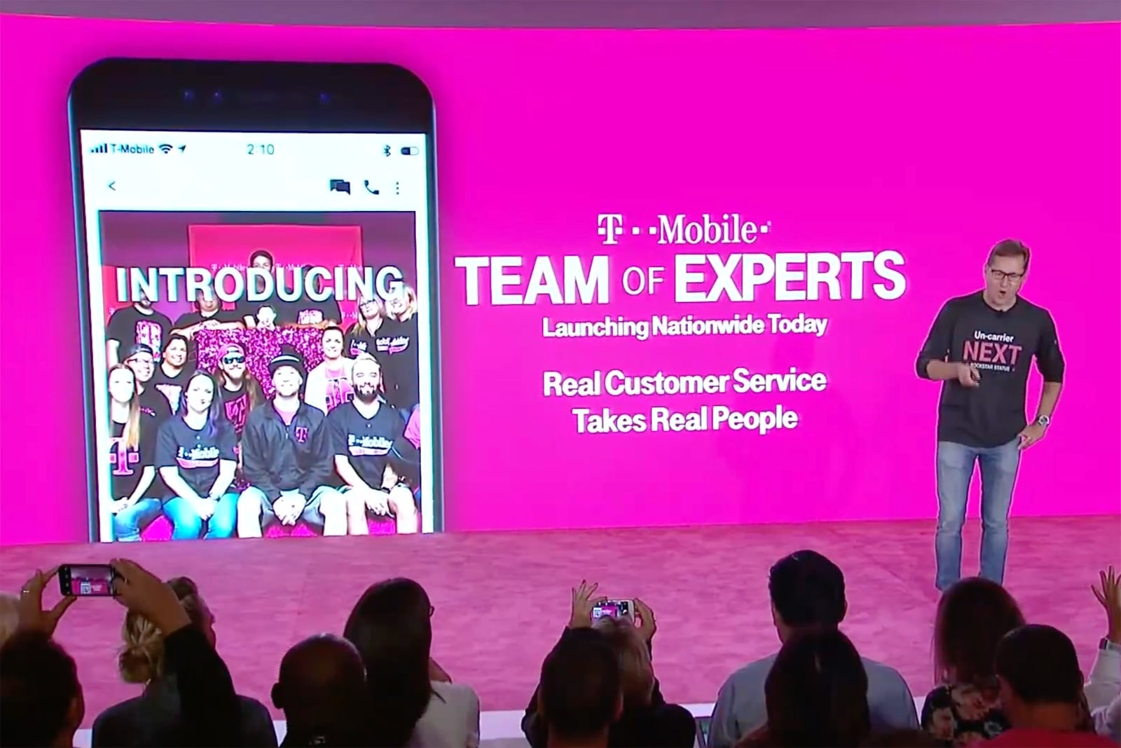 T-Mobile tackles lousy customer service with 'Team of Experts'