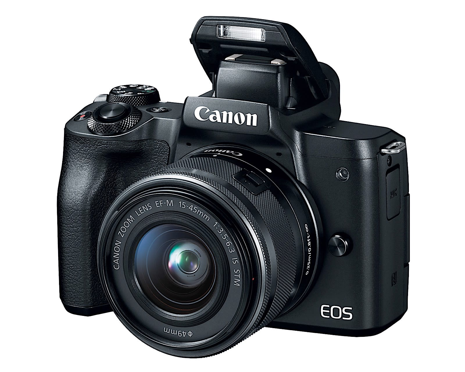Canon EOS M50 Mirrorless Camera  w/EF-M15-45mm and 4K Video