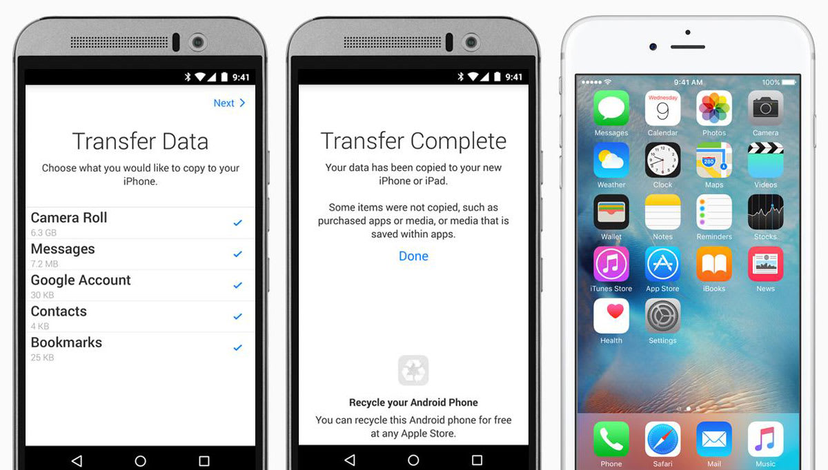 Apple's 'Move to iOS' app is ready to help Android users