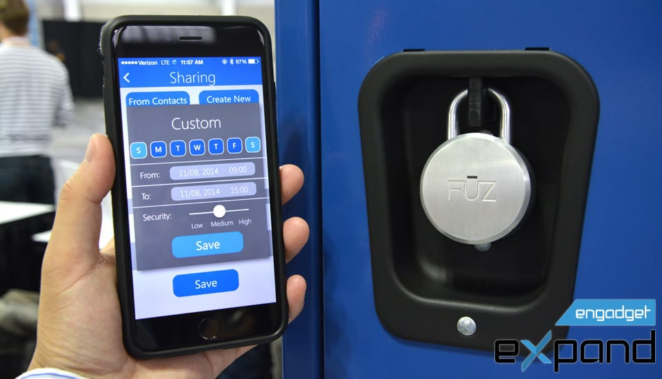 60 seconds with the world's first Bluetooth padlock