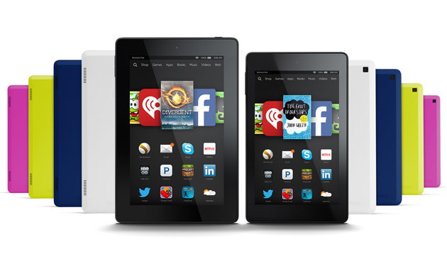 Amazon's giving more Kindle tablets its Firefly visual
