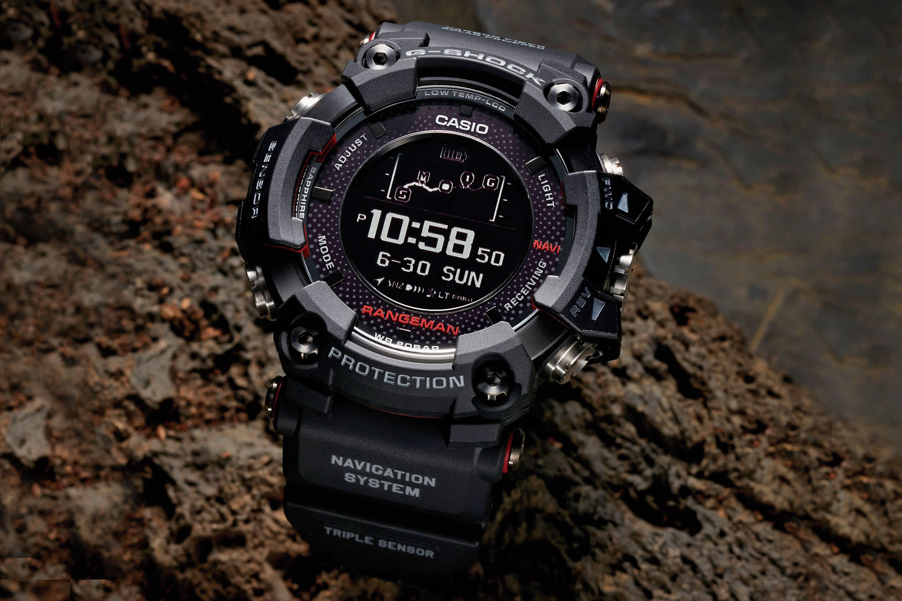 Casio S Solar Powered Gps Watch Is Ideal For Survivalists