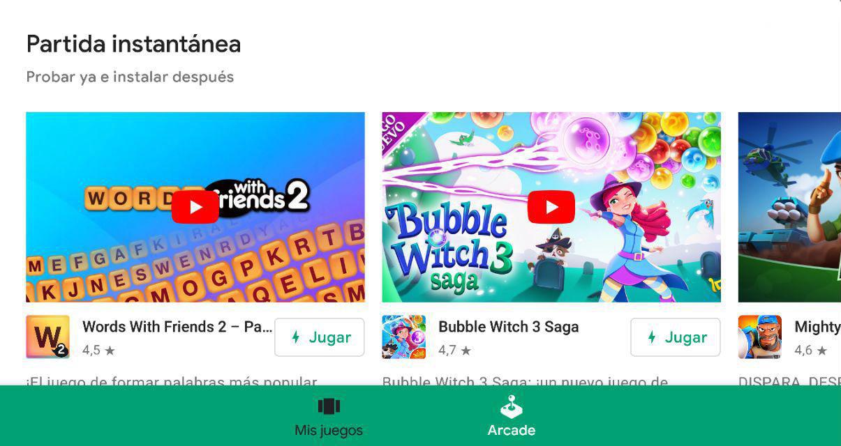 Con Google Play Instant Podras Probar Juegos Sin Descargarlos