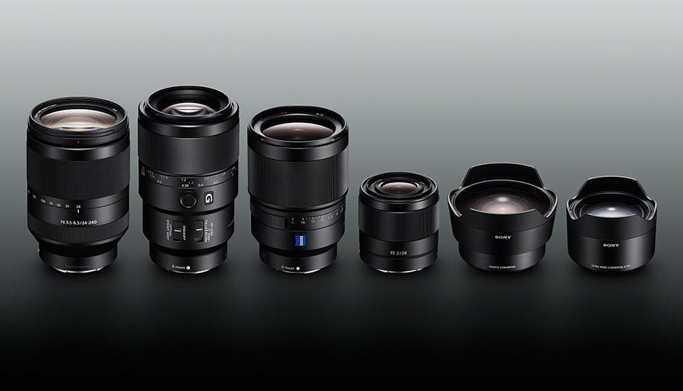 Sony E Mount Full Frame Lenses >> Sony Unveils Four Much Needed Lenses For The Full Frame A7 Ii Camera