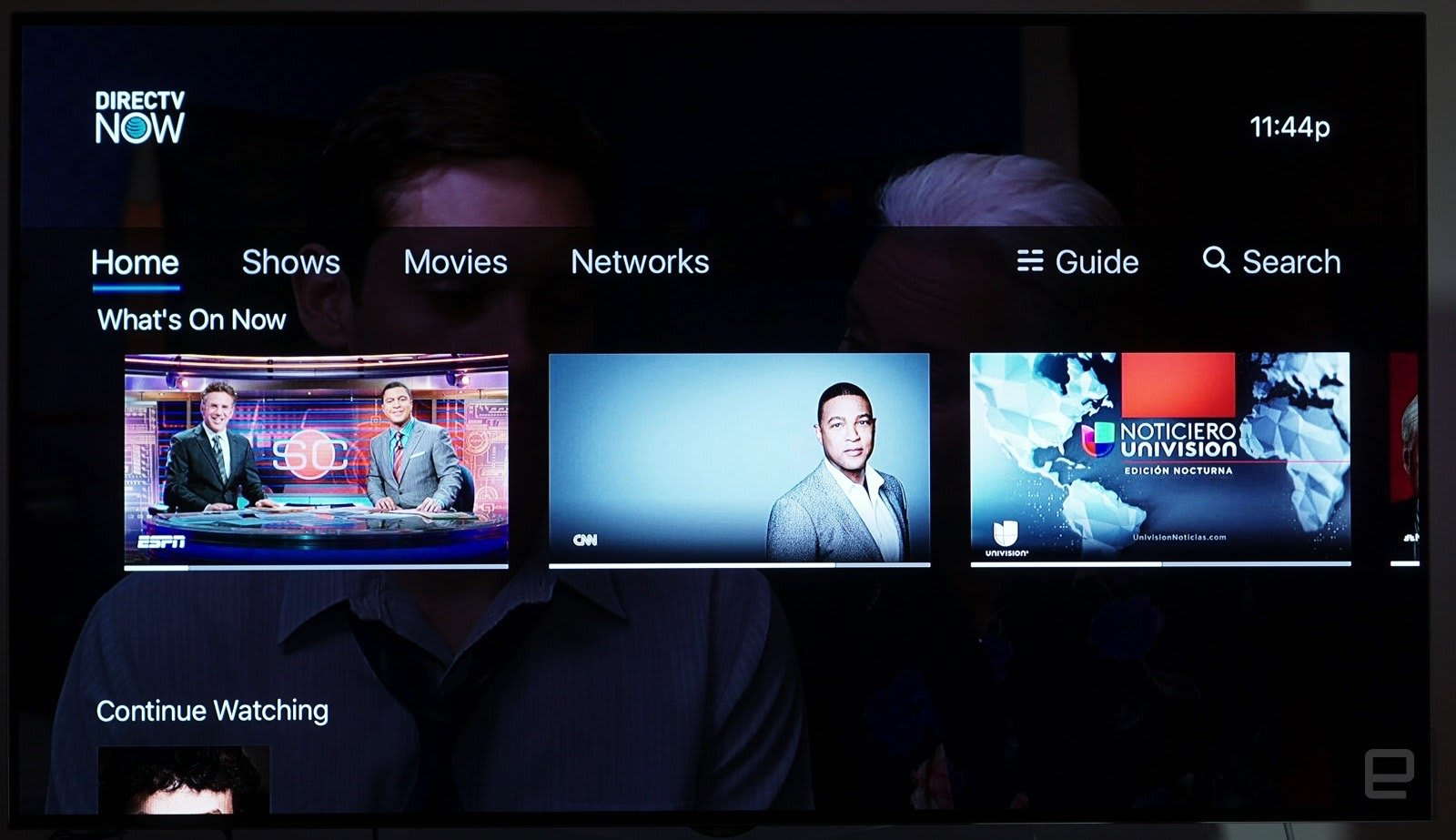 search for movies on directv