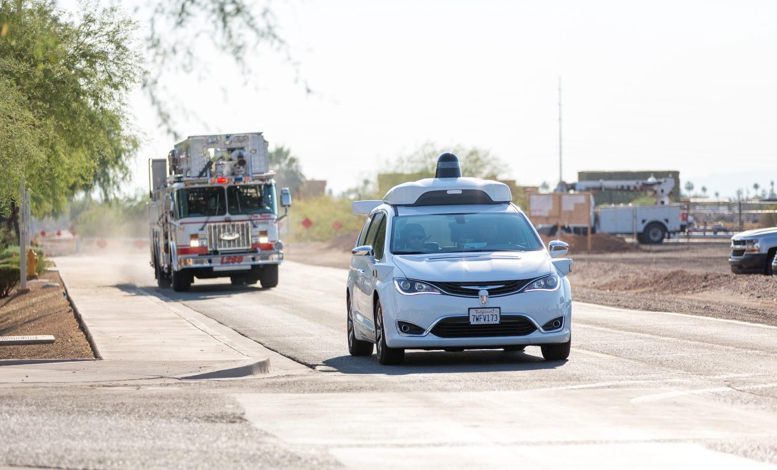 Waymo teaches its autonomous cars to detect emergency vehicles
