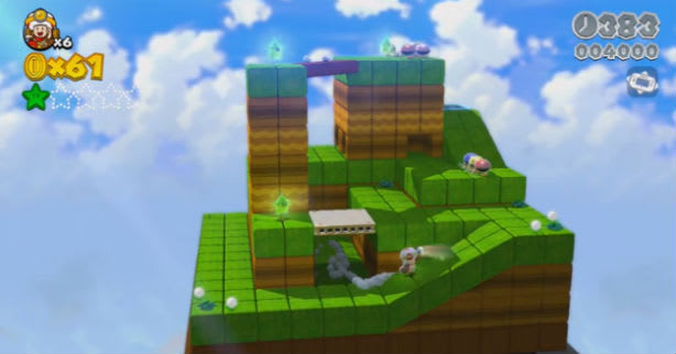 Wii U's wild ride in Captain Toad's Treasure Tracker