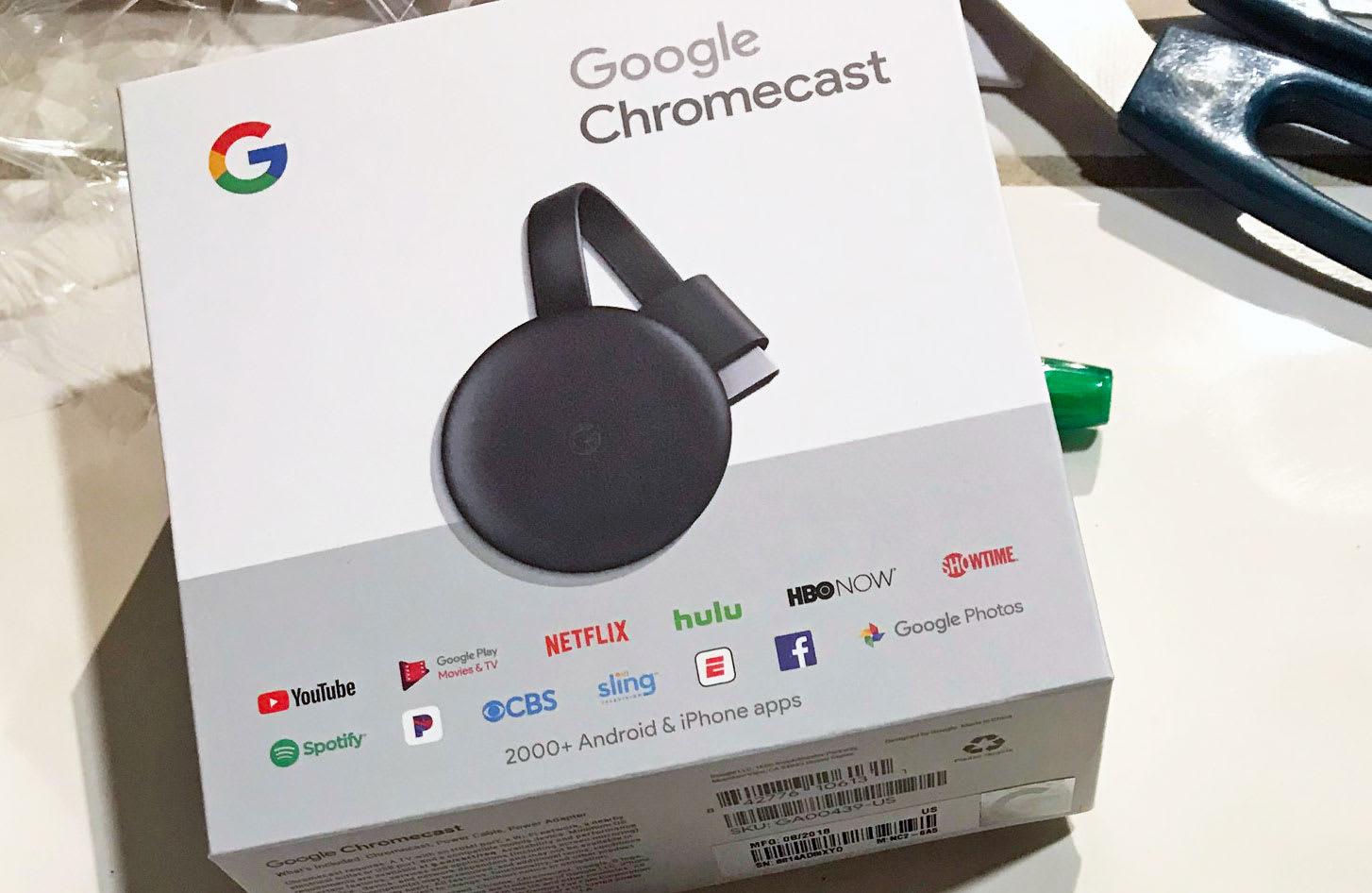 Best Buy inadvertently sold Google's next-gen Chromecast