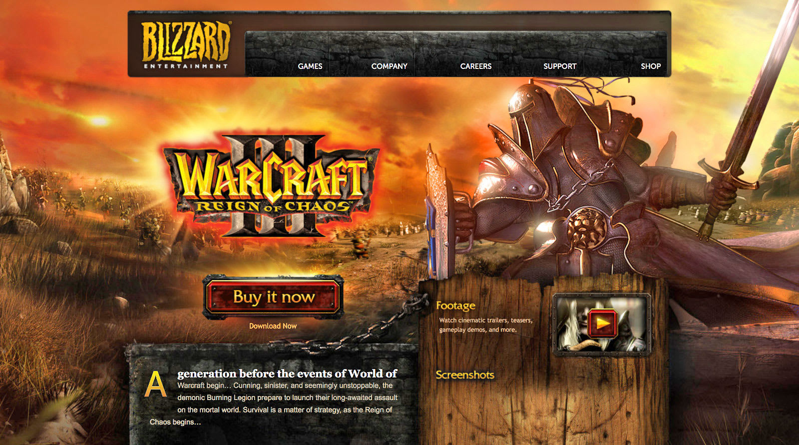 blizzard gives 16 year old warcraft iii a widescreen makeover