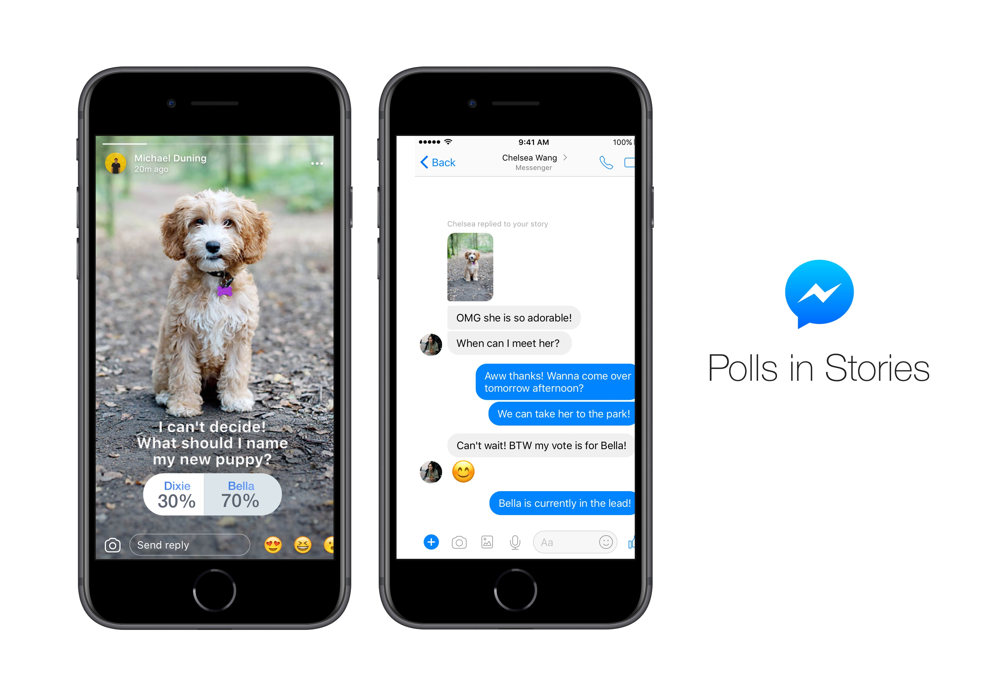 Polls are here for Facebook Messenger Stories