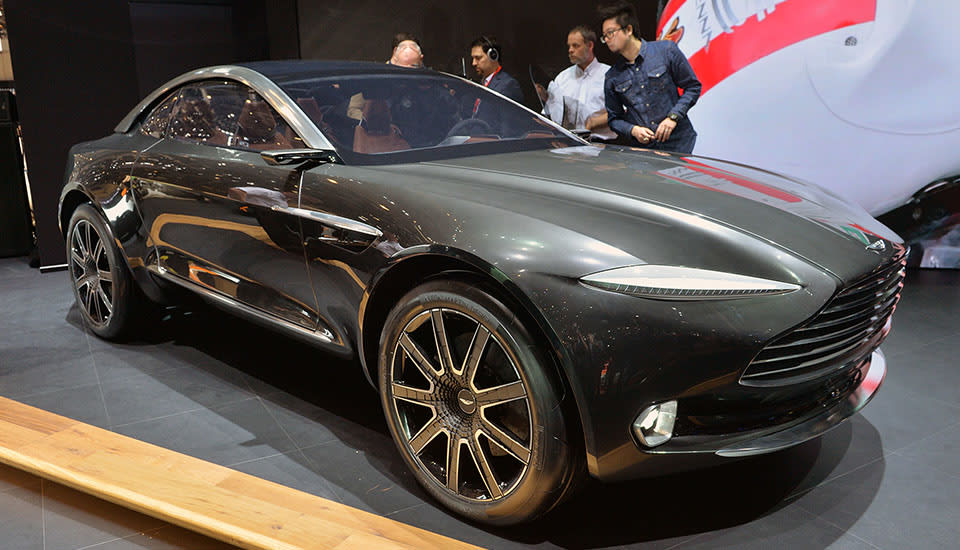 For The First Time An Aston Martin Car Albeit A Concept Has All Electric Train Instead Of Pistons