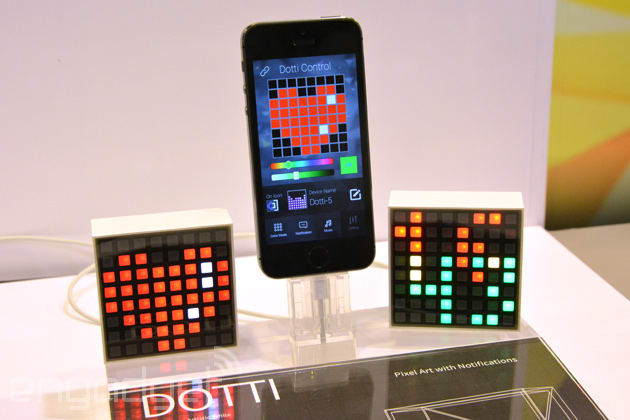 Dotti is a cute LED block that does notifications using