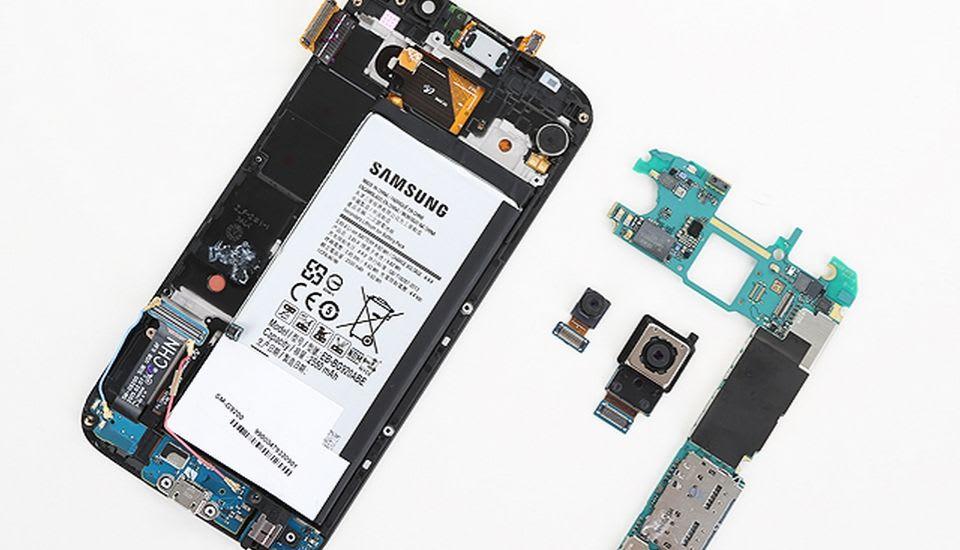 Cambiar la batería del Galaxy S6 será más complicado de lo que piensas
