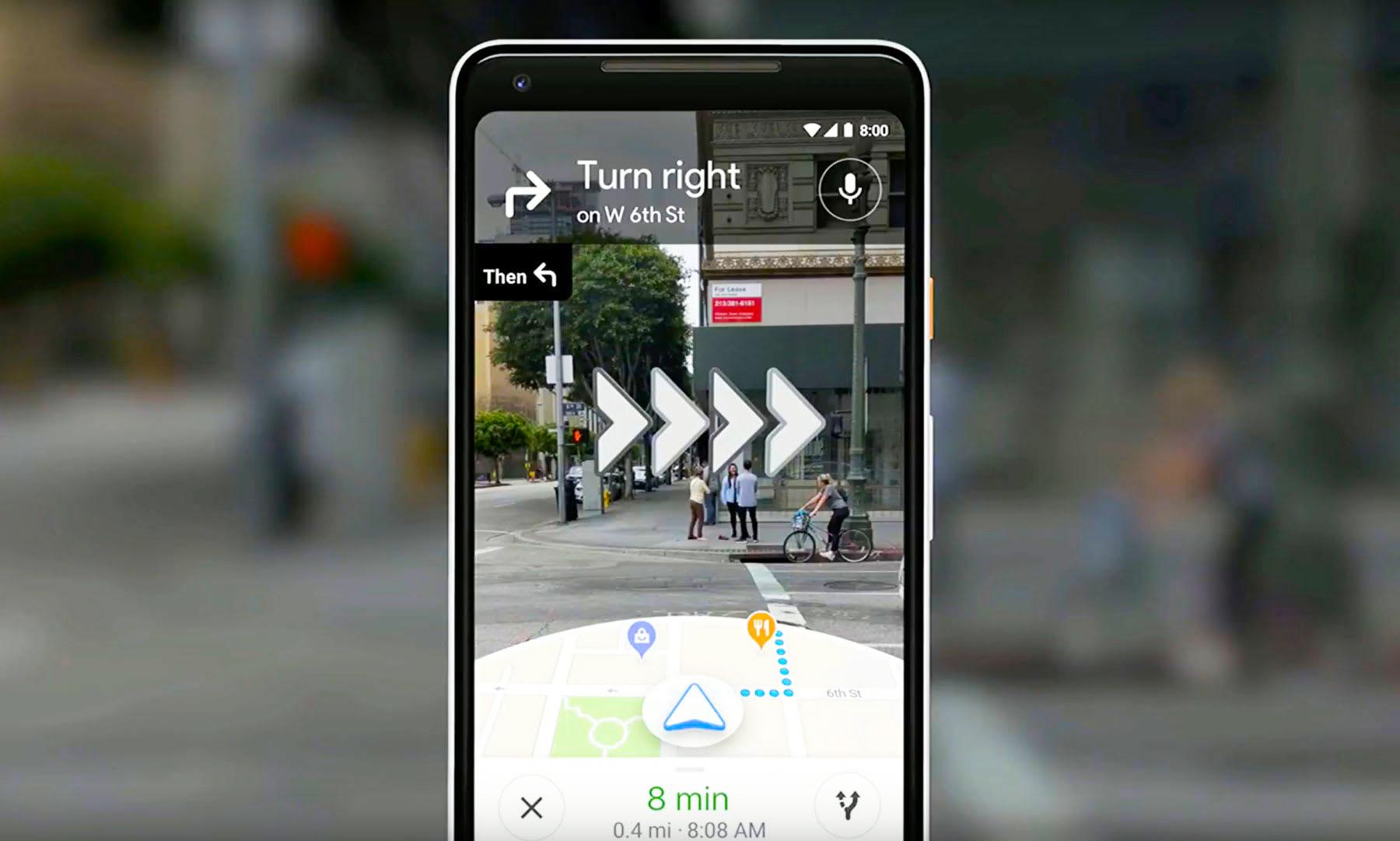 Google shows off its camera-enabled navigation system
