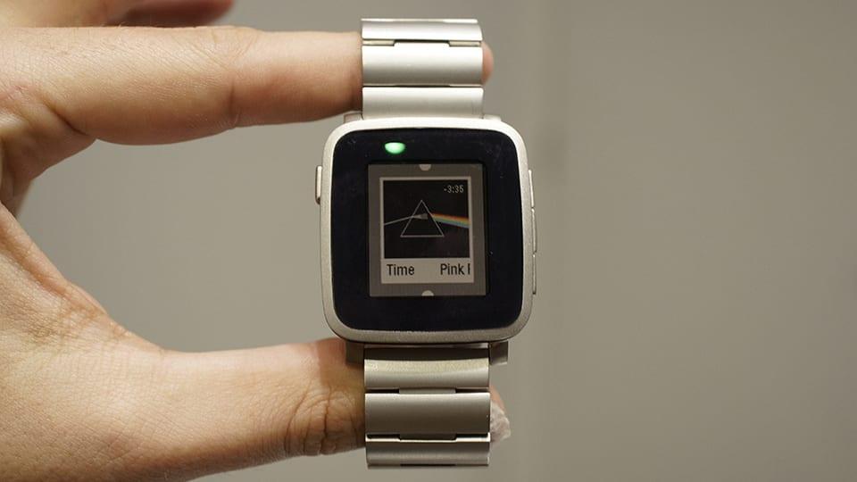 Pebble introduces a premium Steel version of its color smartwatch