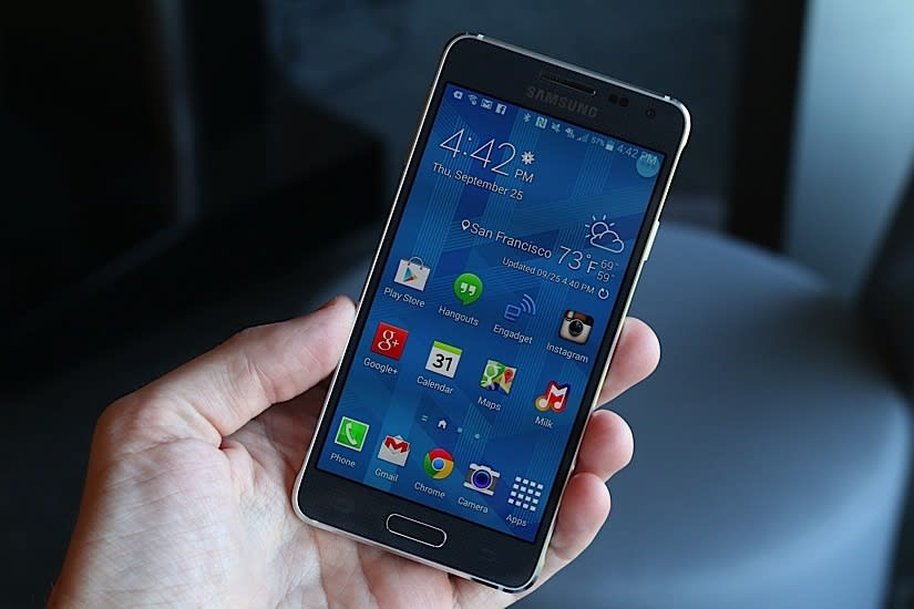 Samsung Galaxy Alpha critique A beautiful phone with functionality that is mistaken