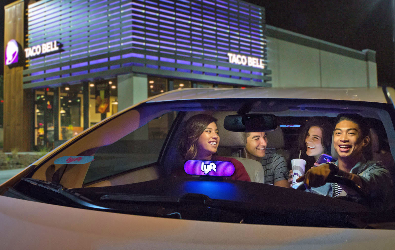 How To Get Lyft Amp >> Lyft's Taco Bell mode indulges your late-night cravings