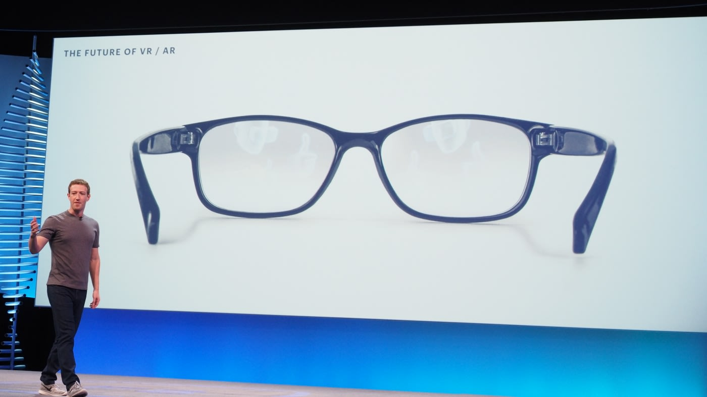 Facebook to put augmented reality in your glasses