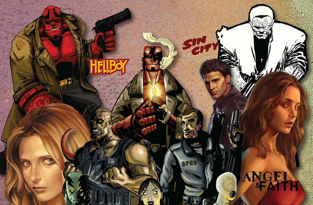 Sin City' and 'Hellboy' comics come to Hoopla's public