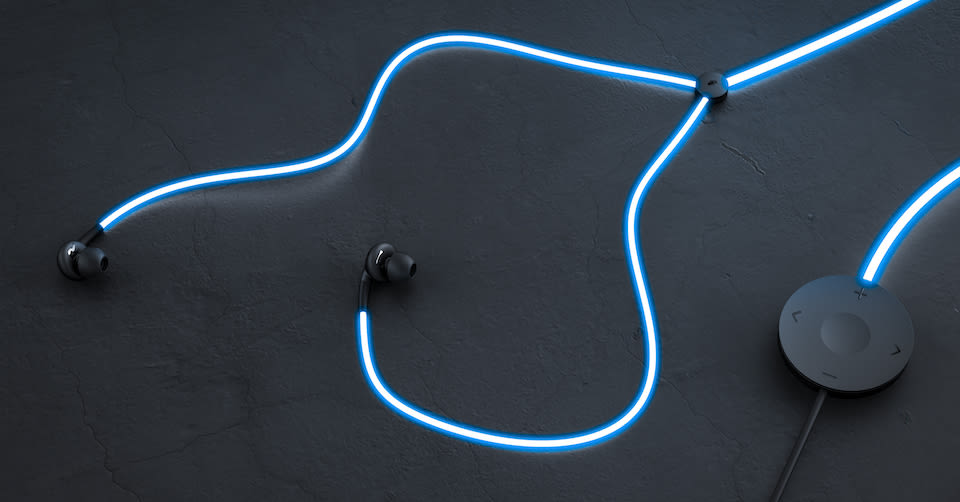 204ed78a172 At first glance, a pair of Glow headphones might seem like gimmicky glow-in-the-dark  earbuds that are designed to get your attention and not much else.