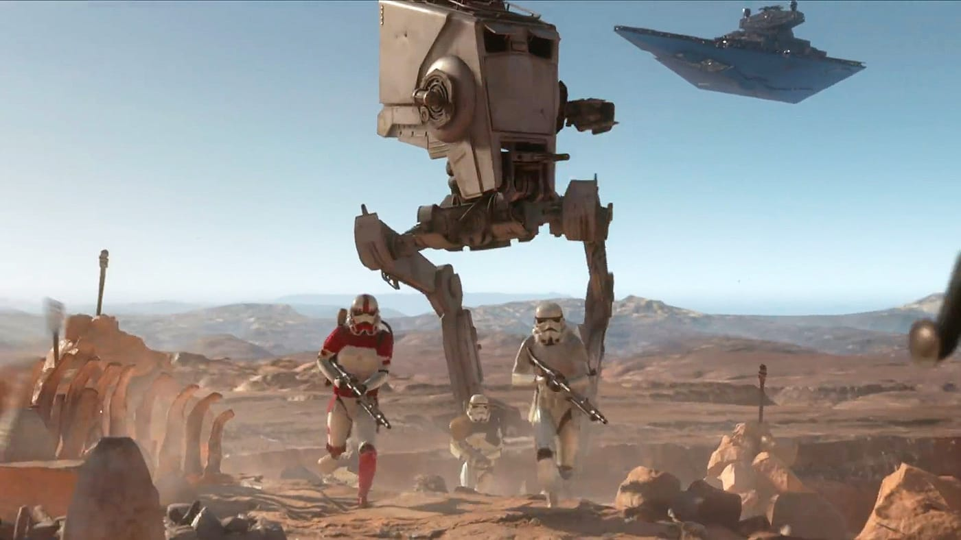 Star Wars Battlefront' adds a retro film grain option