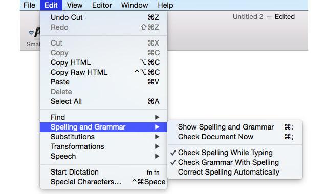 grammar check and fix